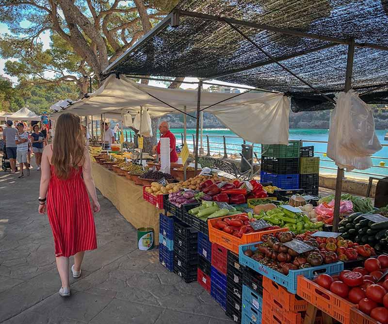 les marchés locaux du coin