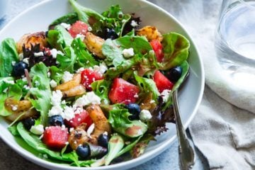 salade cesar vege, recette salade vege