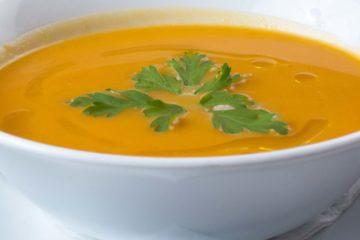 Crème de carottes réconfortante