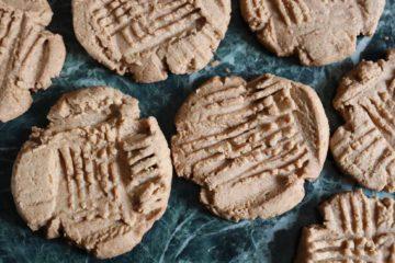 Délicieux biscuits au beurre d'arachide
