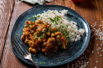 Curry au pois chiche
