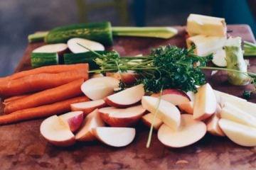Salade de carottes, carrots salad, cranberry