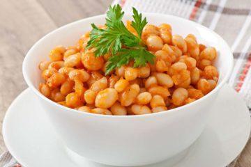 Haricots blancs aux tomates recette