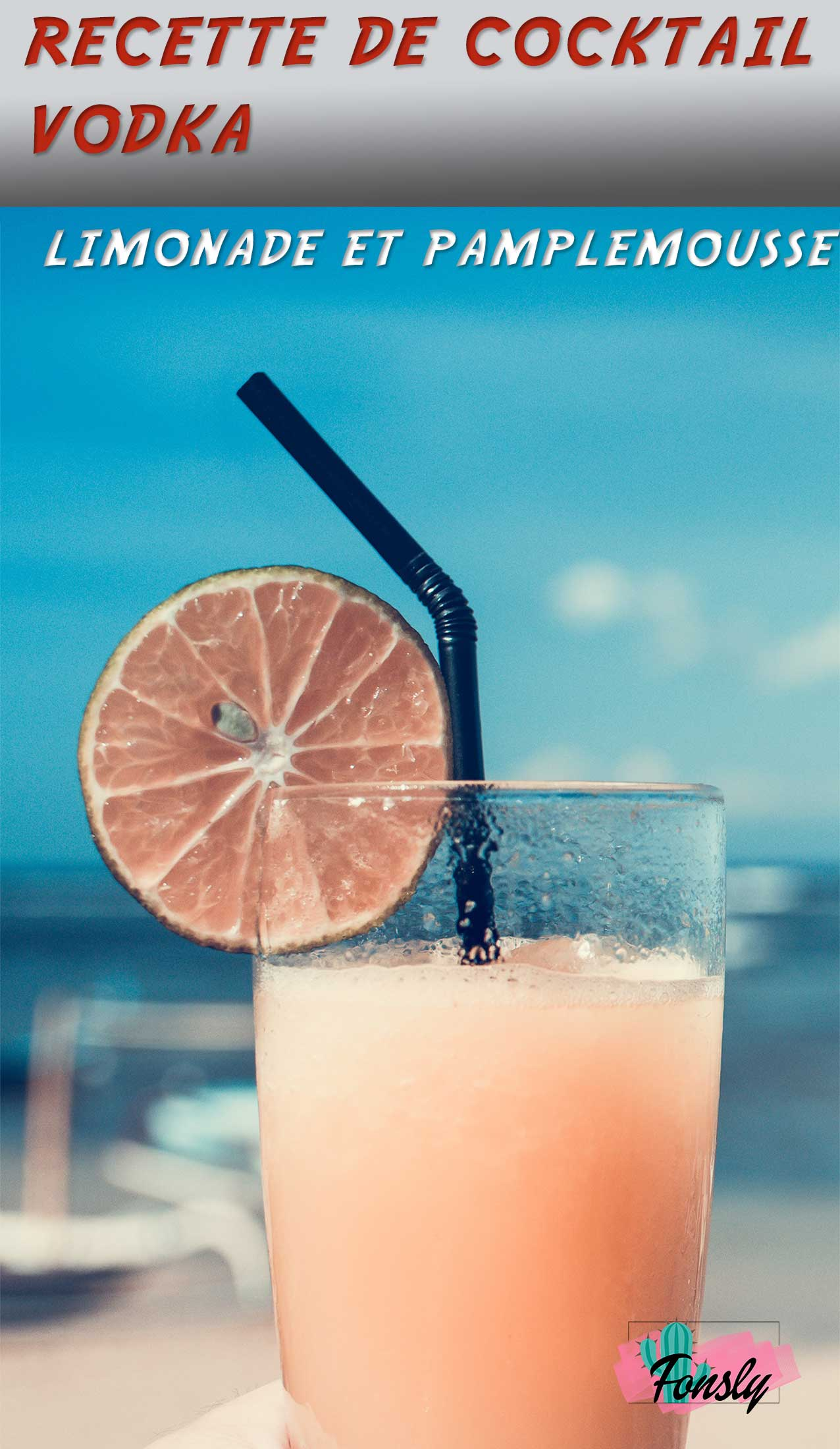 recette de boisson vodka