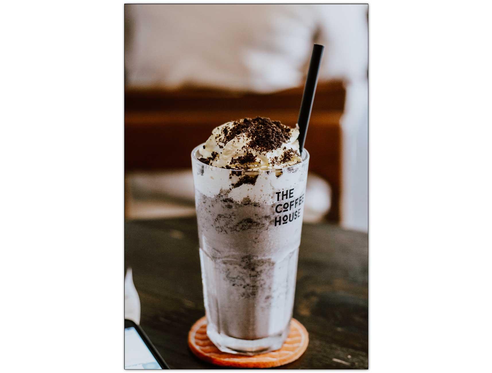 Milkshake irlandais, Café glacé alcoolisé, Café glacé crémeux alcoolisé