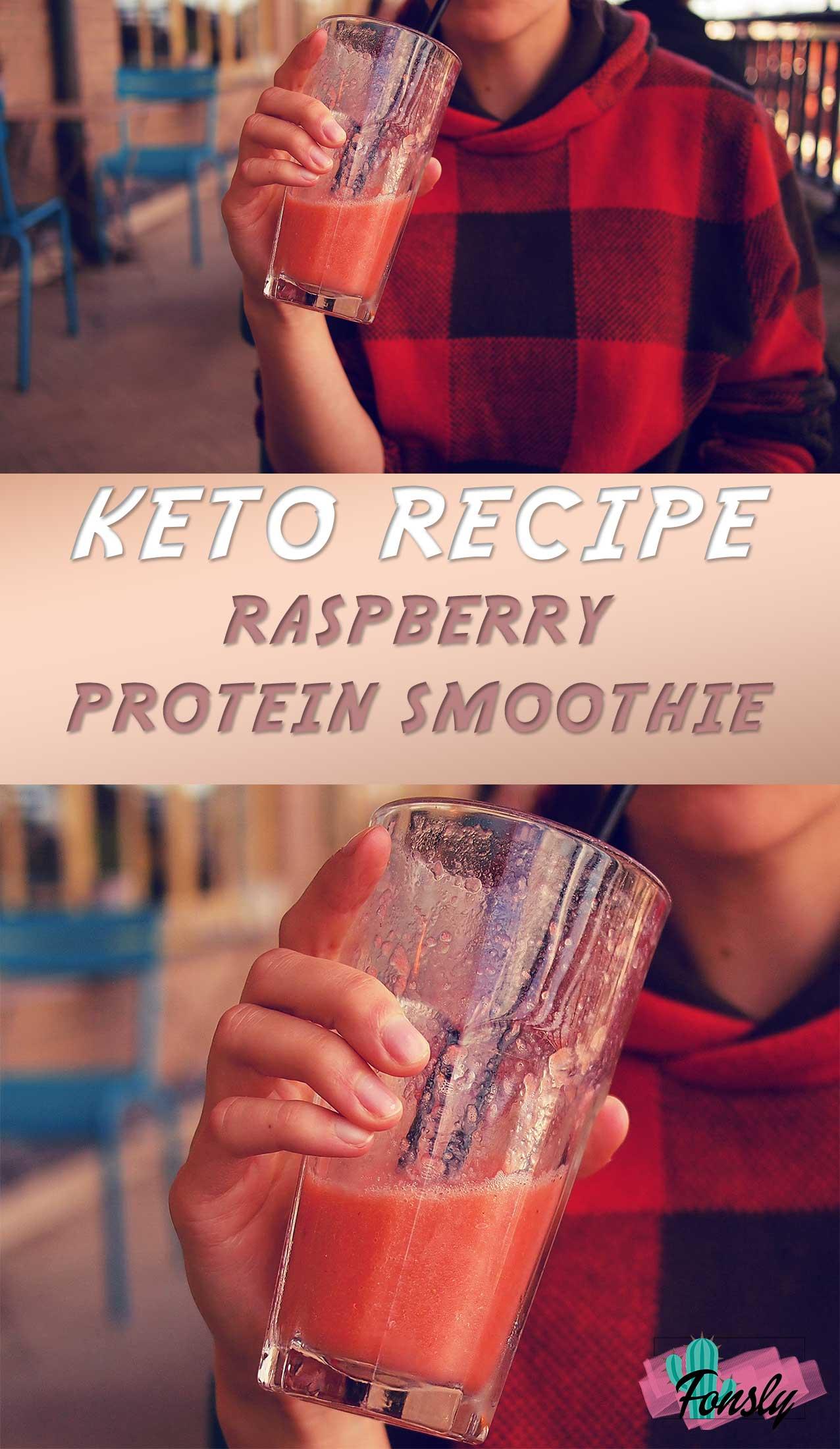 keto protein smoothie recipe