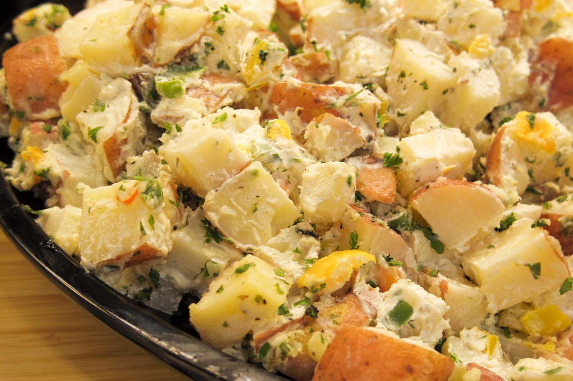 recette autocuiseur, instant pot recette, salade de patates instant pot