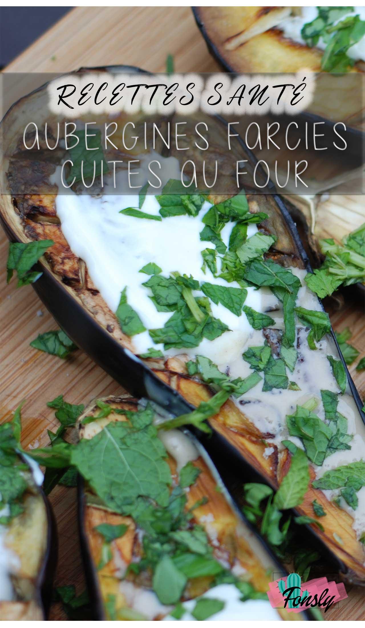 aubergines farcies au légumes ou viande, recette d'aurbergines farcies