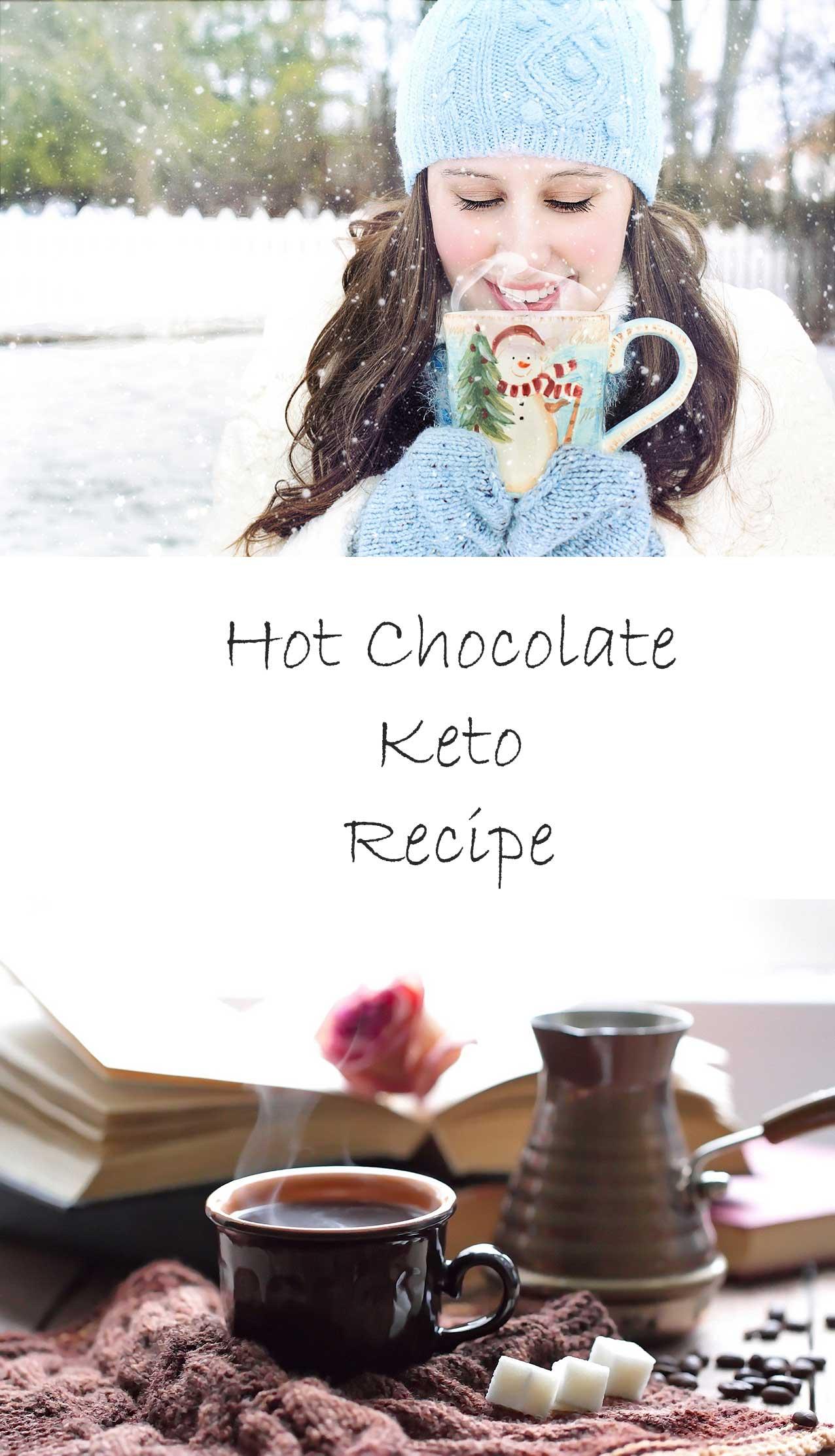 easy keto recipe, hot chocolate recipe, keto drink