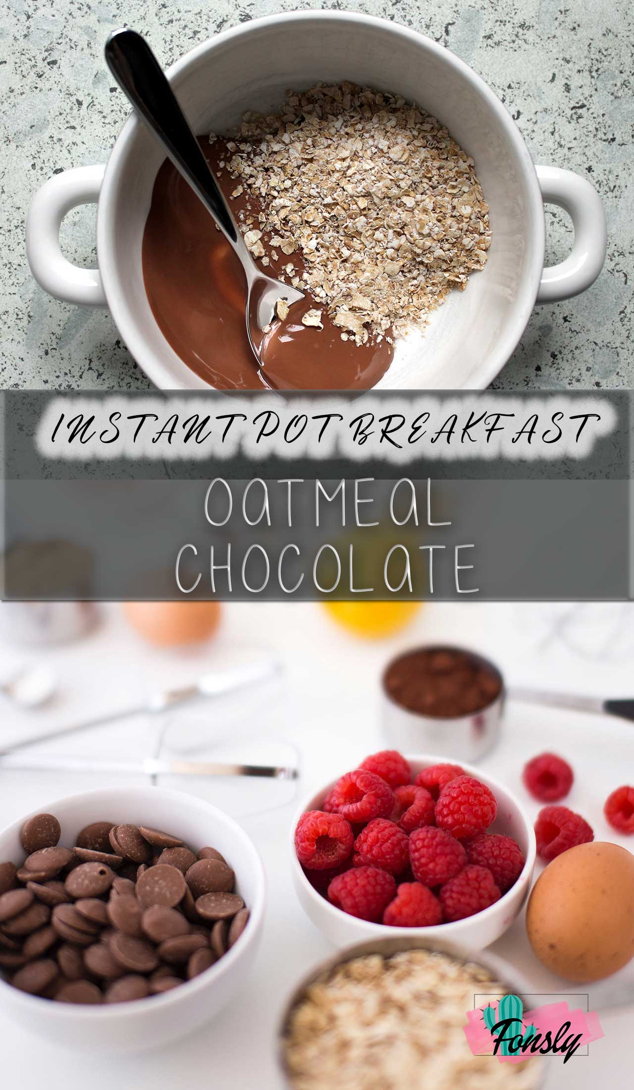 healthy breakfast with instant pot