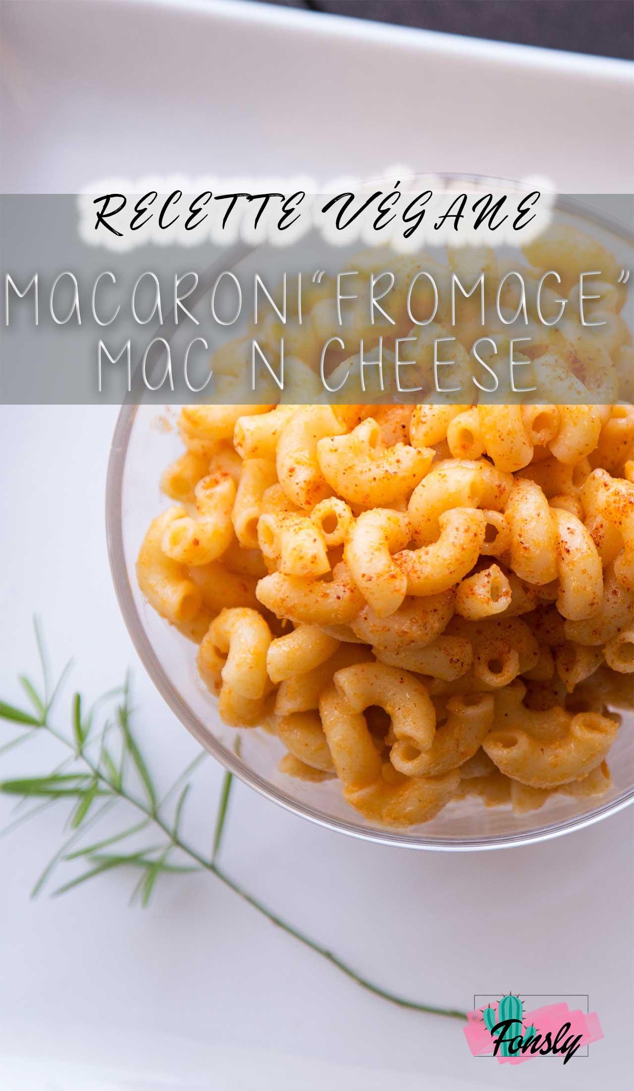 delicious mac n cheese végane, recette vegan