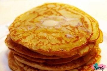 ketogenic pancakes recipe, cétogène crêpes quebecoise