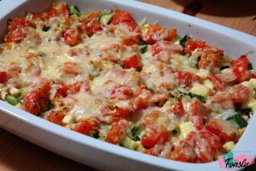 lasagne légumes, gratinated lasagna vegetable, keto recipes