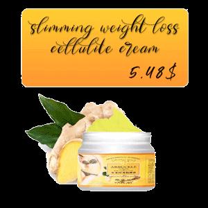 Weight loss cream
